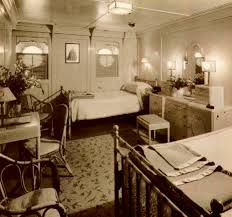First Class Stateroom On The Lurline In The S Theyre Wearing - 1930s house interiors