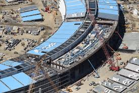 new apple office cupertino. The Apple Campus 2 Is Seen Under Construction In Cupertino, California This Aerial Photo New Office Cupertino F