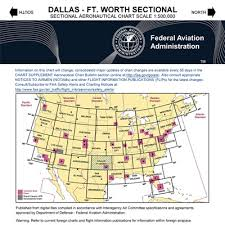Dallas Fort Worth Sectional Chart Vfr Dallas Fort Worth Sectional Chart