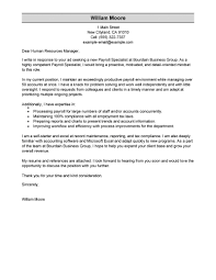Extraordinary Hr Specialist Cover Letter Sample 44 With Additional