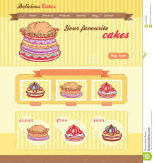 cake shop template royalty stock image image  cake shop template
