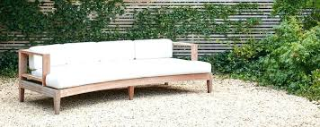 wood outdoor sectional. Curved Outdoor Seating Vintage Wooden Wood Sectional