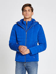 Short quilted jacket with hood   Trussardi.com & Short quilted jacket with hood Adamdwight.com