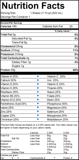 vanilla shake nutritional information premier protein energy for every day