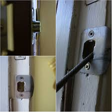 Door How To Install Garage Door Slide Lock Wageuzi Installation