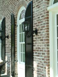 types exterior shutters the plantation shutter company classic louvered arch top interest free styles metal for