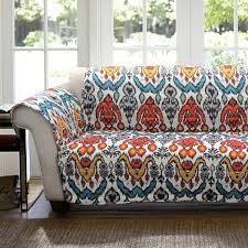 autumn additions outdoor home fall view in gallery rust and turquoise loveseat cover
