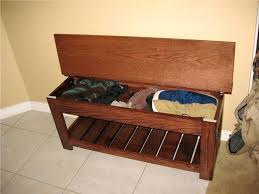 wooden benches storage bench outdoor