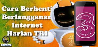Perlu diketahui juga apakah paket ini promo. Cara Berhenti Berlangganan Unreg Berbagai Paket Internet Harian Tri Www Arie Pro