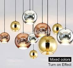 glass ball lighting. North Europe Modern Copper Sliver Gold Shade Mirror Hanging Light E27 Bulb  Led Pendant Lamp Christmas Glass Ball Lighting Glass Ball Lighting T