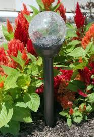 Color Changing Solar Lights Walmart Outdoor Garden Crackle Ball Color Changing Led Solar Lights