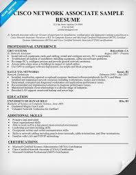 Perfect Ccna Sample Resume Format Pattern Resume Ideas Namanasa Com