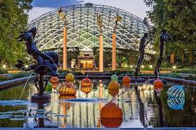 the missouri botanical garden is considered among the top three public gardens in the world the magnificent 79 acre garden a st louis institution since