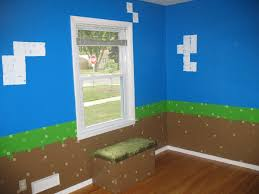 Awesome Minecraft Bedroom Wallpaper On Minecraft Bedroom Set Minecraft Kids  Bedroom Creeper Minecraft Bedroom Wallpaper
