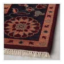 indo mix rug low pile multicoloured dark