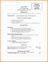 15 Beautiful Normal Resume Format Download Resume Sample