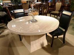 cool inspiration round marble dining table 23