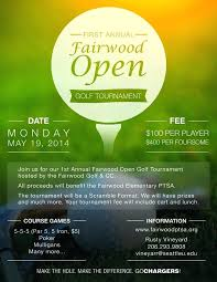 Golf Tournament Flyer Templates Outing Template Free Flyers
