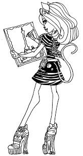 Small Picture Catherine Demew Monster High Coloring Page Coloring Pages of