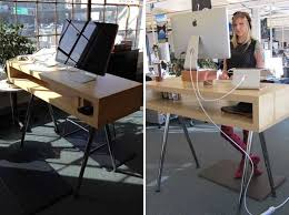 image of stand up desk ikea for computer