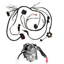 buggy wiring harness loom gy6 150cc atv stator electric start kandi buggy wiring harness loom gy6 150cc atv stator electric start kandi gokart carby