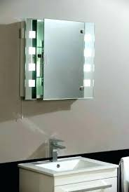 medicine cabinet with outlet. Delighful With Bathroom Medicine Cabinets With Mirrors And Lights Cabinet  Lighting And Medicine Cabinet With Outlet A