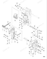 Mercury mercury mariner outboard parts by hp liter 8hp oem parts diagram for cl brackets power tilt boats