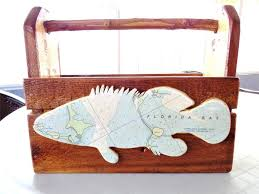 Nautical Chart Holder Florida Key West Art Grouper Fish Nautical Chart Magazine