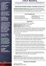 Free School Teacher Cv Template Doc 157kb 1 Page S