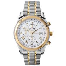 silver gold watches best watchess 2017 sekonda 3878 27 men s chronograph two tone bracelet strap u0636l1 collection guess watches lexington silver and gold tone watch michael kors