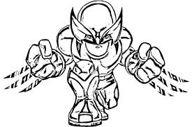 Small Picture Easy to Color superhero coloring pages Grootfeestinfo
