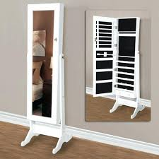 standing jewelry mirror armoire standing jewelry in home regarding stylish standing jewelry mirror standing mirror jewelry armoire canada