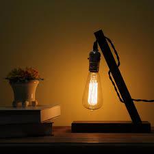 Edison Light Stand Vintage Novelty Scotch Wiffy Blot Wipe Liquoir Bottle Couch Lamp