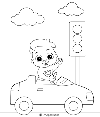 And after coloring, try to solve our quiz and learn some interesting facts about cars movies! Car Coloring Pages For Kids
