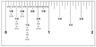 Ruler Measurement Chart Measurement Conversion Chart Ruler Ruler Measurements