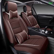 Front And Rear Luxury Leather Car Seat Covers For Bmw E30 E34 E36 E39 E46 E60 E90 F10 F30 X3 X5 X6 Car Styling Seat Cushion Leather Car Seat Cover Car Seat Coverseat Cover