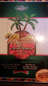 Mojitos Mexican Restaurant   1902 Main St, Granger, IA 50109, USA