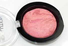 makeup revolution baked blusher in loved me the best review swatches