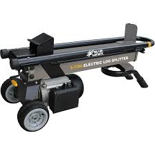 shop blue hawk 5 ton electric log splitter at lowes com blue hawk 5 ton electric log splitter