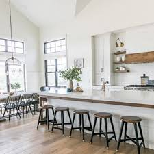 eat in kitchen furniture. Farmhouse Eat-in Kitchen Appliance - Inspiration For A Light Wood Floor Eat- Eat In Furniture C