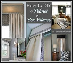 box valances window treatments box valance ideas