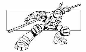 Small Picture Ninja Turtle Coloring Page Coloring Home