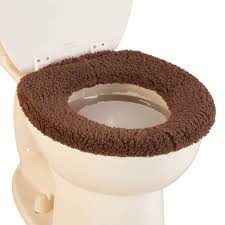 Sherpa Toilet Seat Cover By Oakridge
