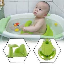 baby infant toddler bath seat ring non anti slip safety chair mat pad tub usa ks