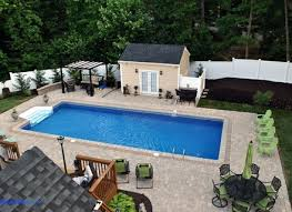 Small Inground Pool Designs Small Backyard Pool Designs Design