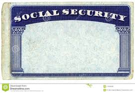 Security Card Template Blank American Social Security Card Stock Photo Image Of Isolated