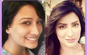 female celebrities without makeup 6 stani lollywood famous actresses without makeup 18