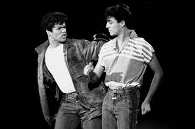 george michael 1980s. Perfect 1980s George Michael And Andrew Ridgeley Of Wham Perform On The Solid Gold  During Their First Intended 1980s