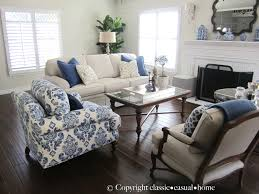 Silver And White Living Room Classic O Casual O Home Blue White And Silver Timeless Design