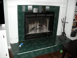 painting ceramic tile around fireplace best 2018